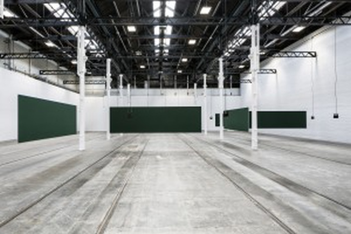 Installation view: Florian Hecker, Synopsis, Tramway Glasgow, 6 May - 30 July 2017 Photography © Keith Hunter